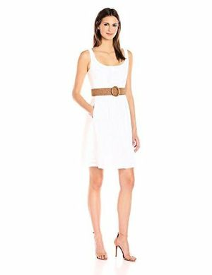 Like New-Size 6 White Nine West Fit & Flare Dress for Sale in Chula Vista, CA