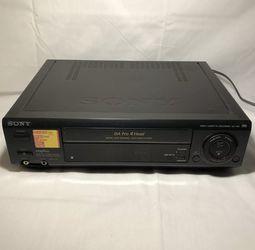 Sony DA Pro 4 Head Video Cassette Recorder ( VCR & VHS ) Model SLV-495, Working. for Sale in Moreno Valley,  CA