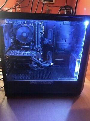 Cyber Power Pc Gaming Desktop(AMD RYZEN 5) (RADEON 580) for Sale in Clarksburg, MD