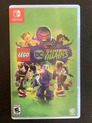 Nintendo Switch LEGO DC Super-Villains for Sale in San Diego, CA