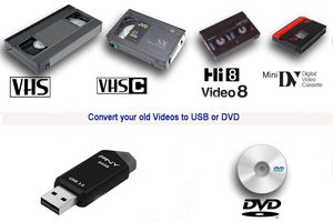 Transfer old videos to USB or Dvd for Sale in Katy, TX
