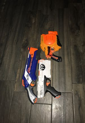Nerf guns. for Sale in Chicago, IL
