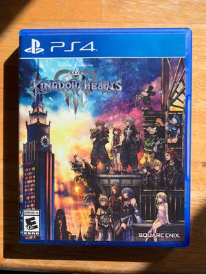 Kingdom Hearts 3 PS4 Game for Sale in Albany, CA