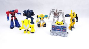 McDonald's Transformers 2010 to 2018 Figure Lot of 7 figure action Happy meal for Sale in Humble, TX