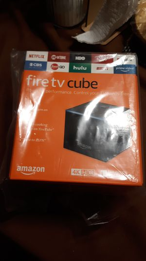 Fire tv cube for Sale in Downey, CA