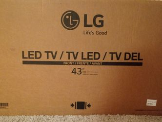 "Brand New 43"" LG LED Flat Screen Tv's for Sale in Aurora,  CO"