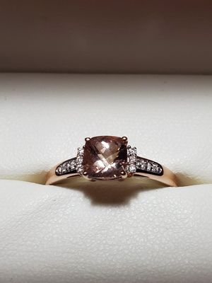 Rose Gold with Chocolate Diamond Wedding Ring for Sale in Conroe, TX