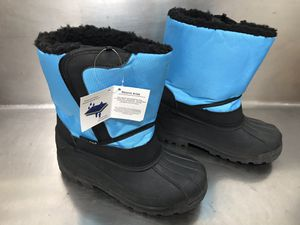 NWT Storm Kidz Unisex Kids Insulated Winter Snow Boots - Size 3. for Sale in Hampton, VA