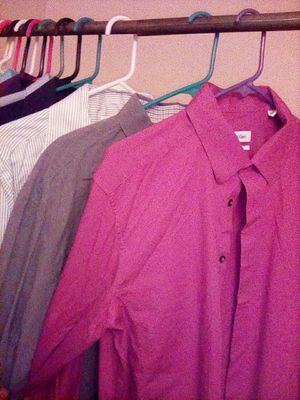 Long Sleeve Dress Shirts for Sale in Wildomar, CA
