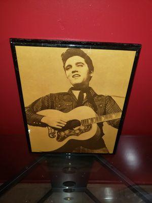 Elvis Vintage Photo in Frame for Sale in Detroit, MI