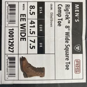 Ariat Rigtek Wide Square Toe Comp Boot for Sale in Wethersfield, CT