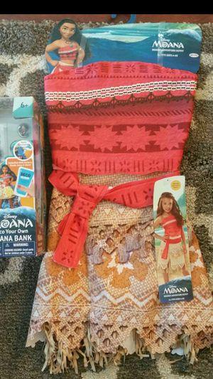 Disney Moana girls dress 4-6x $15 firm for Sale in Arlington Heights, IL