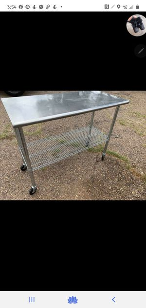 Stainless steel table for Sale in Amarillo, TX
