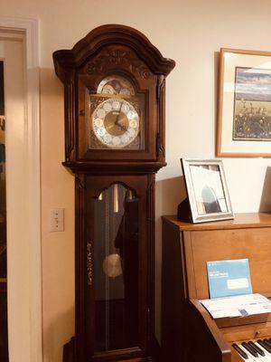 Howard Miller grandfather clock #61038 for Sale in Greer, SC
