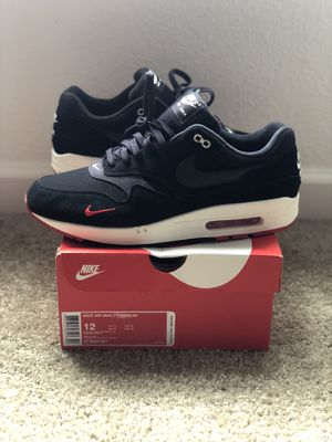 Air max 1 mini swoosh bred for Sale in Hillsboro, OR