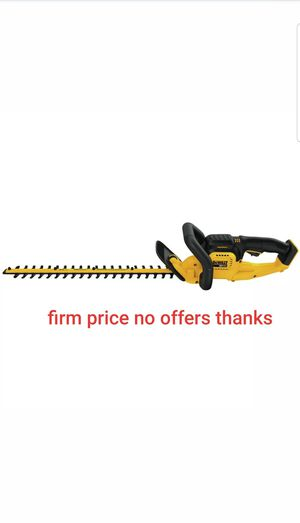Dewalt DCHT820B 20v Max Li-Ion 22 In. Hedge Trimmer (Tool Only) battery or charger not included for Sale in UPR MARLBORO, MD