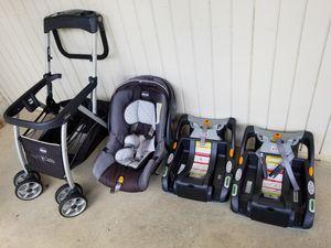 Infant car seat with stroller for Sale in Smyrna, GA