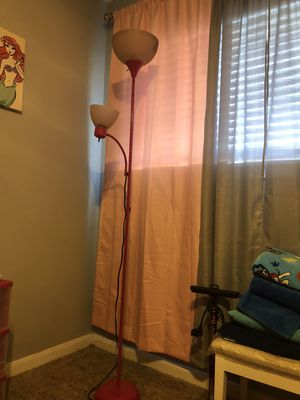 pink floor lamp for Sale in Houston, TX