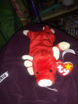 Snort The Beanie Baby 1995 clean nice bull for Sale in Seneca, SC