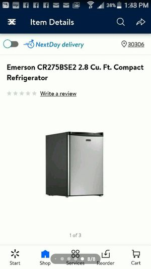 Emerson mini fridge top tray freezer for Sale in Marietta, GA