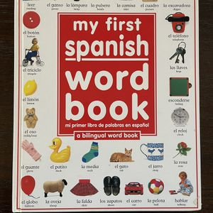 My First Spanish Word Book for Sale in Fresno, CA