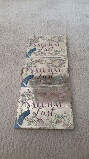 Large pallet Too faced Natural Lust for Sale in Perris, CA