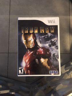 Iron Man On Nintendo Wii  for Sale in Pompano Beach, FL