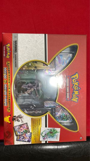 Pokemon 20th Anniversary Super Premium Collection Mew & Mewtwo Trading Cards for Sale in Tempe, AZ
