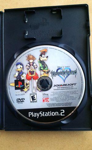 Kingdom hearts, PS2 for Sale in El Cajon, CA