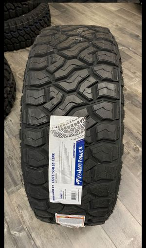 BRAND NEW TIRES 275/55r20 VENOM POWER R/T FOR SALE ALL 4 TIRES $699 WITH FREE MOUNT AND BALANCE for Sale in San Jose, CA