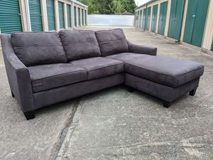 Gently Used Sectional Sofa Couch Lounge - Free Delivery for Sale in Houston, TX