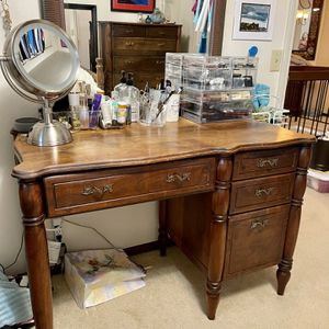 Hand made solid walnut bedroom set including mattress for Sale in Renton, WA