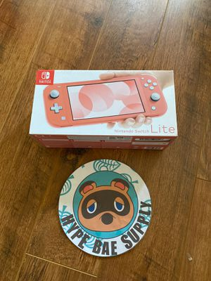 Nintendo Switch Lite Coral - Brand New! for Sale in Norco, CA