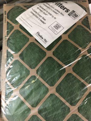 This is a standard grade furnace filter set of 4 ~ EZ Flow AAF Flanders 18x21x1 for Sale in Pinellas Park, FL