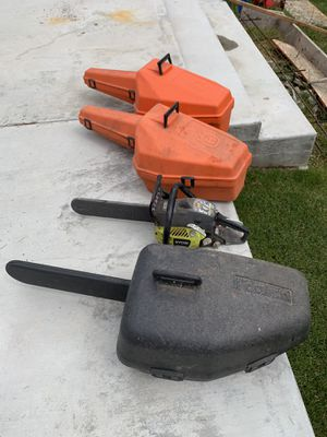 4 chainsaws for sale for Sale in Puyallup, WA