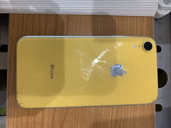 Yellow iphone xr
