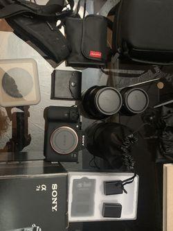 Sony A7ii Bundle for Sale in Oceanside,  CA
