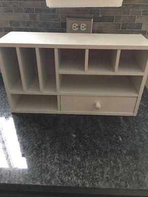 White Desk Organizer for Sale in Grayslake, IL