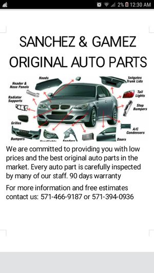 Auto parts for Sale in Morningside, MD