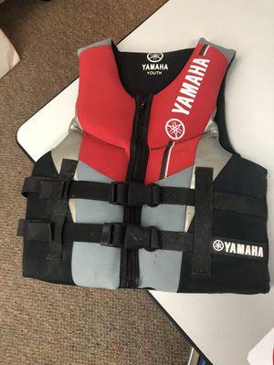 Yamaha neoprene life jacket youth for Sale in Nocatee, FL