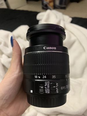 canon zoom lens 18-55mm for Sale in Miami, FL