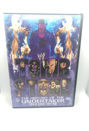 Tombstone The History Of The Undertaker DVD set for Sale in Corona, CA