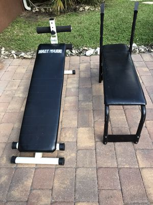 Weight bench and sit up bench for Sale in Boynton Beach, FL