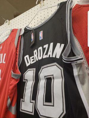 Deron Derozan San Antonio Stitched Silver Spurs Jersey with tags for Sale in  San Antonio c649e2a95