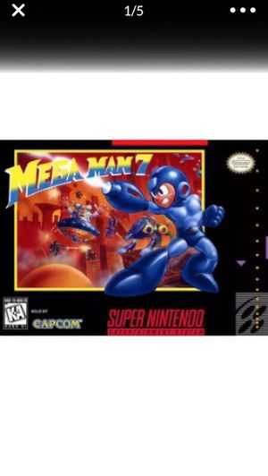 Mega Man 7 Home Brew Hack (SNES). Brand New Condition!! for Sale in Lancaster, CA