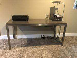 Crate and Barrel granite top desk for Sale in Atlanta, GA