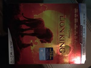 The Lion King Blu-ray the new one for Sale in Houston, TX