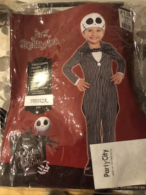 Jack Skellington Halloween Costume for Sale in Cumming, GA
