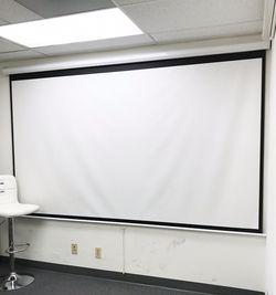 "(NEW) $75 Manual Pull Down 120"" Projector Screen 16:9 Ratio Projection Home Theater Movie for Sale in South El Monte,  CA"