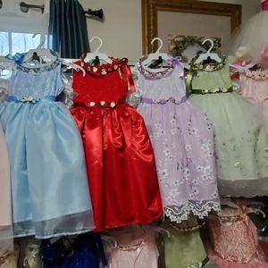 Girl Dress/ Event Dress/ Flower Girl Dress/ Christmas Dress/ 2 FOR $25 for Sale in Ontario, CA